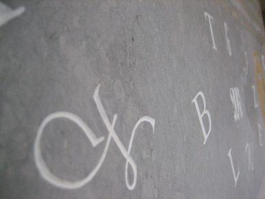 ARTE PIERRE tailleur de pierre gravure Bagnols sur Cèze